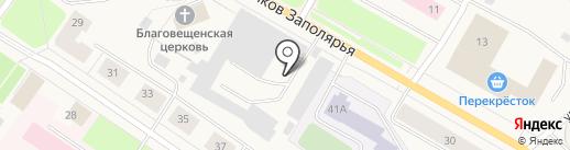 Кухня51.рф на карте Колы