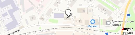 Тулома на карте Колы