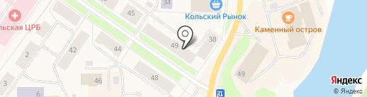Ирина на карте Колы
