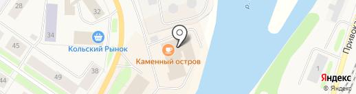 Воран на карте Колы