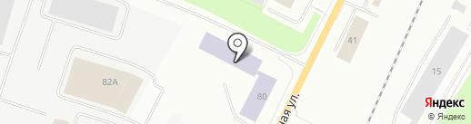 Мурманский индустриальный колледж на карте Мурманска