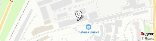 Смайл на карте Мурманска
