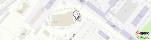 Gagarin auto на карте Мурманска