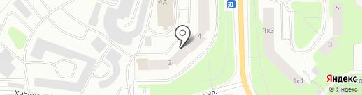 Центральная станция охраны на карте Мурманска