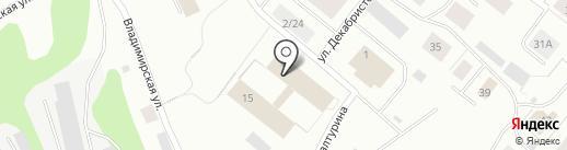 Полярный геофизический институт на карте Мурманска