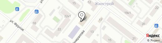 Мировые судьи г. Мурманска на карте Мурманска