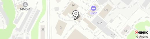 Автомойка на карте Мурманска