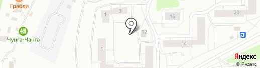 Март на карте Мурманска