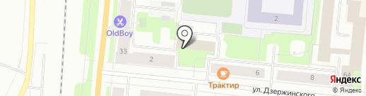 Автошкола на карте Мурманска