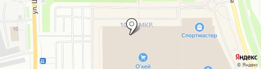 Банкомат, Банк ВТБ 24, ПАО на карте Мурманска