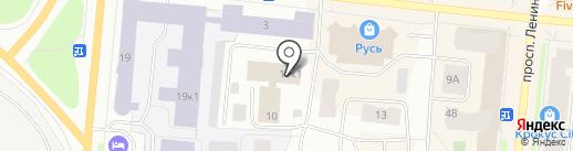 СЕВЕРНАЯ ТПП, НО на карте Мурманска