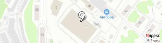 Шиномонтажная мастерская на карте Мурманска