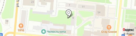 Бульвар, ТСЖ на карте Мурманска