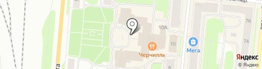 Буржон на карте Мурманска
