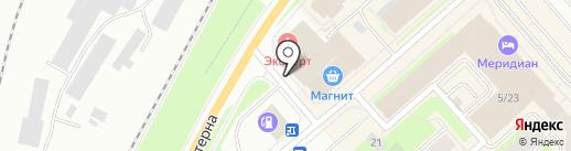 Hotner на карте Мурманска