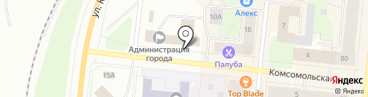 Центр социальной поддержки населения на карте Мурманска
