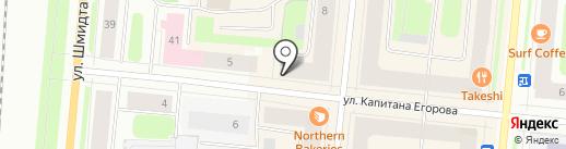 Ателье по ремонту одежды на карте Мурманска