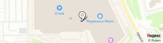 FOOD HOUSE на карте Мурманска