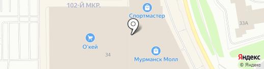 Swatch на карте Мурманска