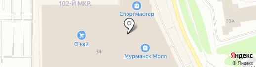 VAN CLIFF на карте Мурманска