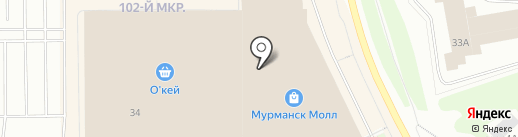 KO`S на карте Мурманска