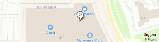 Футболка51 на карте Мурманска