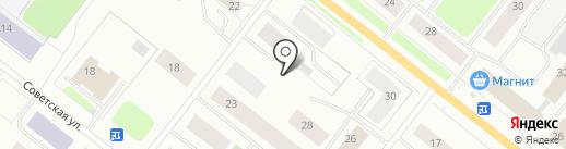 Автостоянка на карте Мурманска