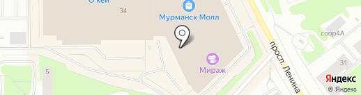 Plombir на карте Мурманска