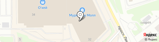 La Chere на карте Мурманска