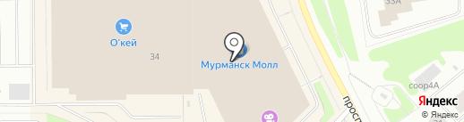 BASCONI на карте Мурманска