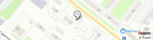 Автобан на карте Мурманска