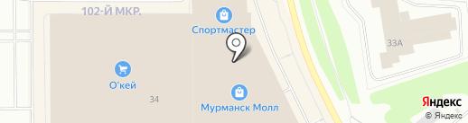 Мир радостей на карте Мурманска