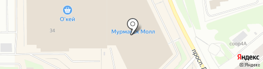 FRANKO на карте Мурманска