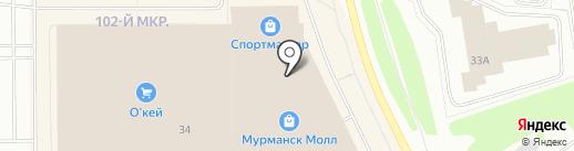 ТВОЕ на карте Мурманска