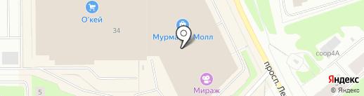 SUNLIGHT на карте Мурманска