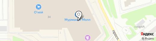 Jeterini на карте Мурманска