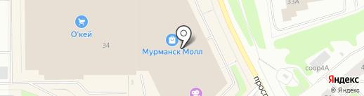 Кафе красоты на карте Мурманска