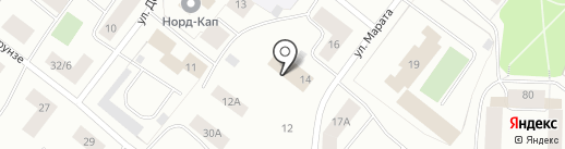 Фабрика снов на карте Мурманска