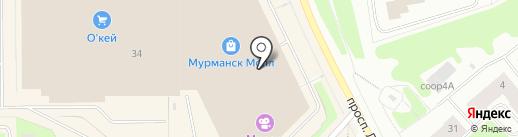 ИЛЬ ДЕ БОТЭ на карте Мурманска