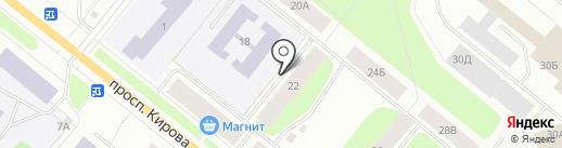 Дизайн сервис на карте Мурманска