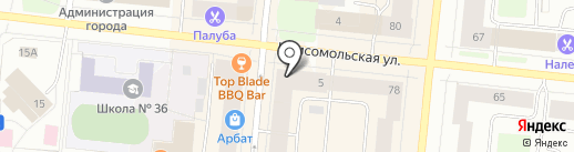 БрейкАут на карте Мурманска