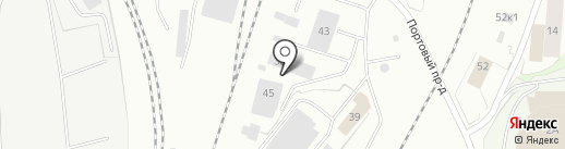 Мурманское агентство фирменного транспортного обслуживания на карте Мурманска