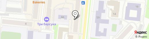 585 GOLD на карте Мурманска