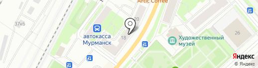 Damska Moda на карте Мурманска