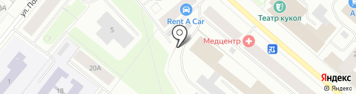 Севзапмебель на карте Мурманска