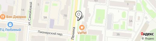 STYX NATURCOSMETIC на карте Мурманска