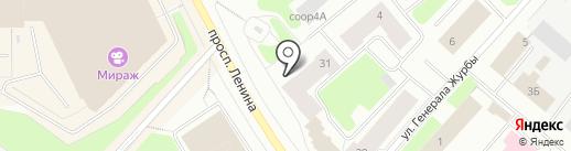 МурманскТоргСнабСервис, ЗАО на карте Мурманска