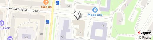 МИШКА НА СЕВЕРЕ на карте Мурманска