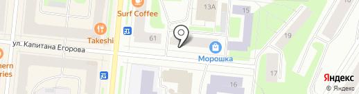 La vita на карте Мурманска
