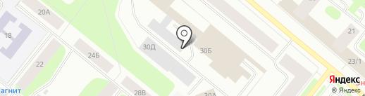 Веглас на карте Мурманска